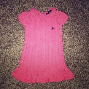 Ralph Lauren sweater dress 9 Months